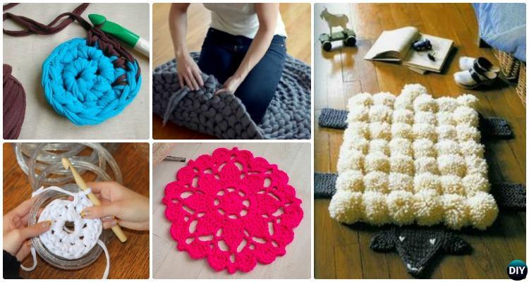 DIY Crochet Area Rug Ideas Free Patterns