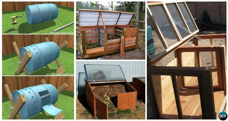 12 Simple Diy Compost Bin Solutions Instructions