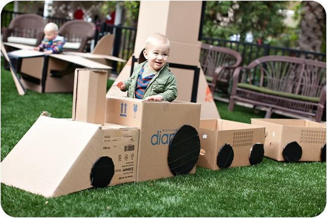 20 Awesome Ways to Recycle Cardboard Box - Cardboard Train