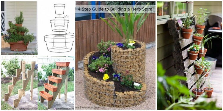 DIY Space Saving Vertical Garden Projects [Picture