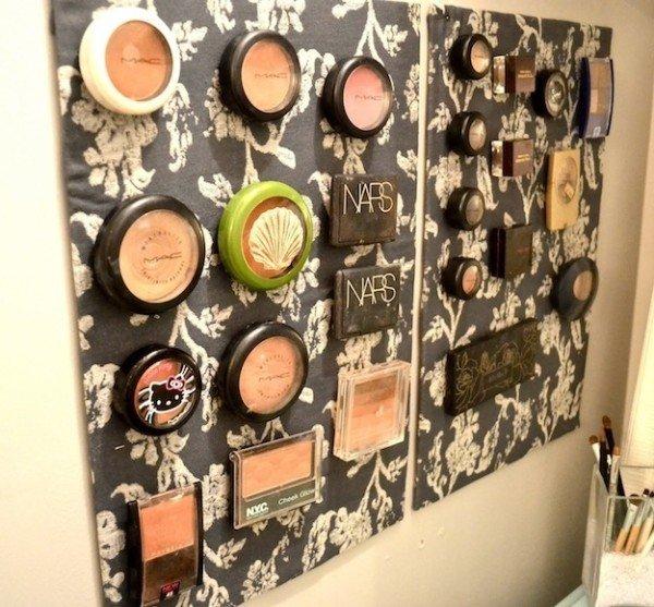 20 Makeup Organization U0026 Storage DIY Ideas For Small Spaces