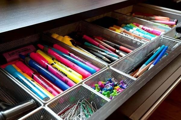 30 DIY Ideas and Hacks to Organize Your Office