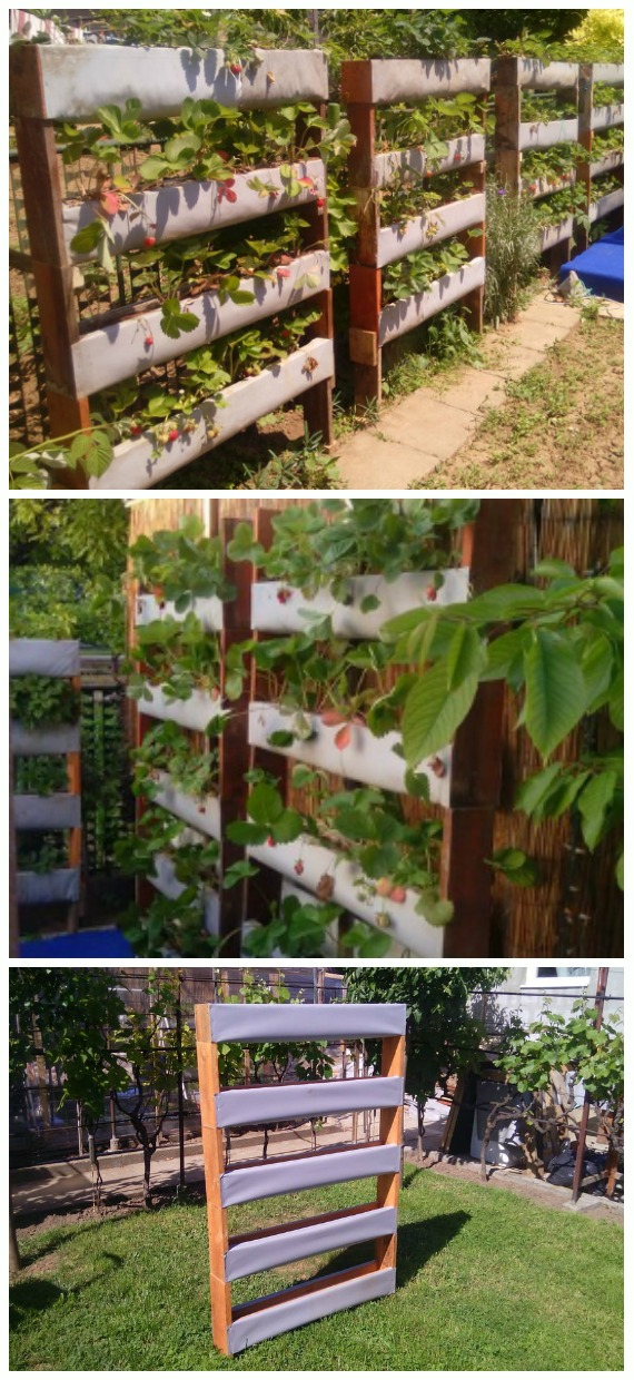DIY Modular Vertical Garden Tutorial - DIY Space Saving Vertical #Garden Projects Picture #Instructions