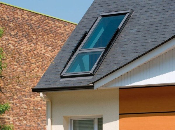 Roof Window That Can Transform Into A Small Balcony