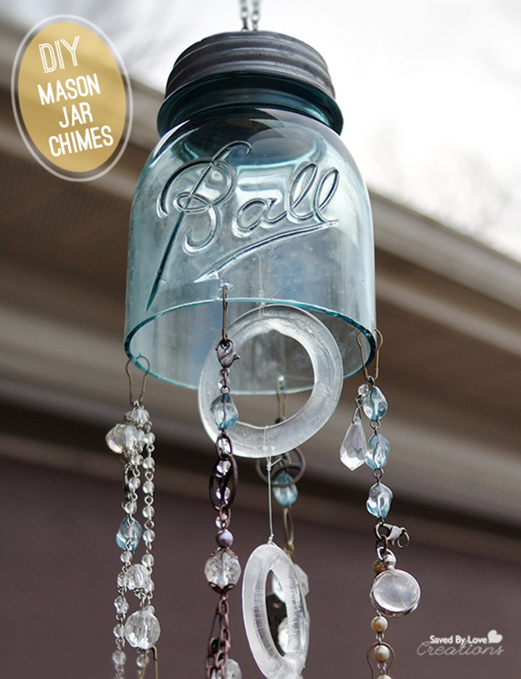 20 Unique Mason Jar DIY Crafts and Projects You'll Love to Try-Mason Jar Chimes