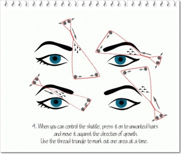 How to Shape Your Eyebrows With Thread in Less Than 5 Minutes