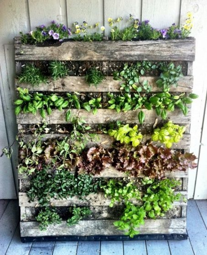 Easy Garden Ideas diy stuff for the garden 10 Pallet Garden In 7 Easy Steps Pallet Gardening Ideas Diyhowto Create A Pallet Garden