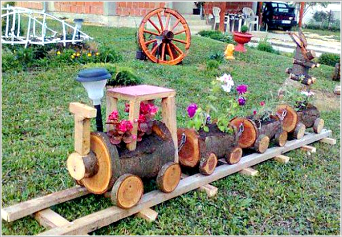DH DIY Train Planters from Wood Crate Picture ...