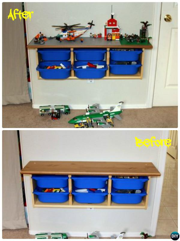 DIY Lego Table Project Ideas for Kids 06-DIYHowto • DIY How To
