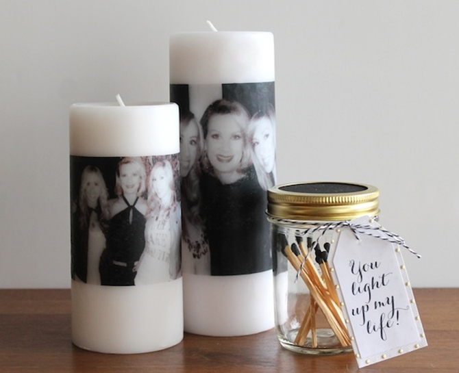 DIYHowto 20 DIY Candle Projects That Are Beautiful And Decorative For Home-DIY Photo Candle