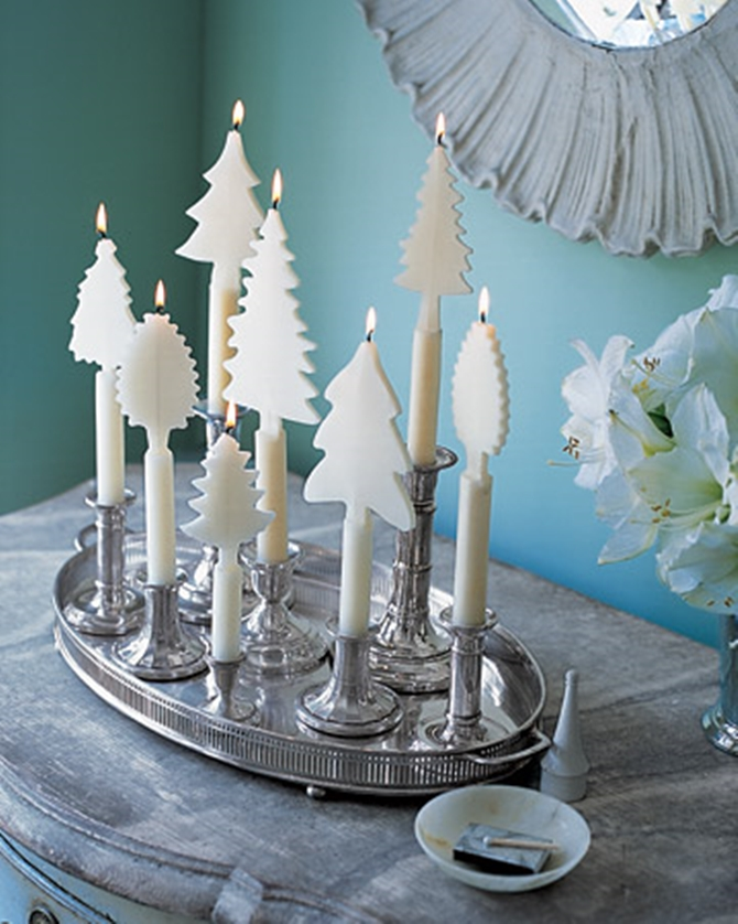 DIYHowto 20 DIY Candle Projects That Are Beautiful And Decorative For Home-DIY Tree Candle