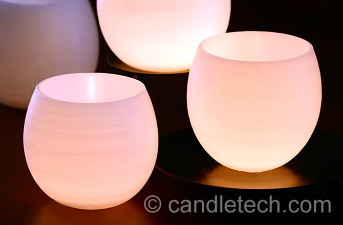 DIYHowto 20 DIY Candle Projects That Are Beautiful And Decorative For Home-DIY Balloon Candle Votives