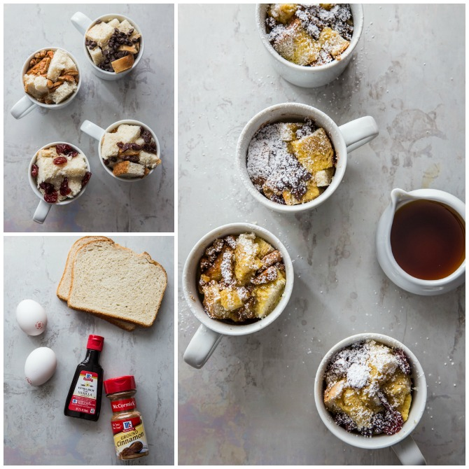 20 Easy Breakfast Mug Recipes For Lazy Morning-French Toast in a Mug