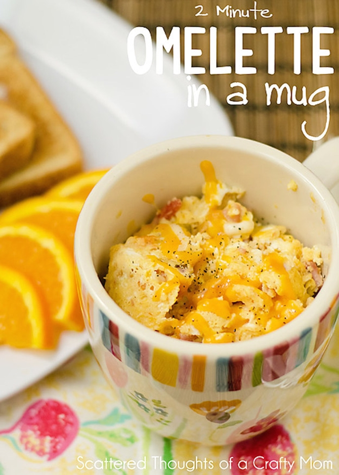20 Easy Breakfast Mug Recipes For Lazy Morning
