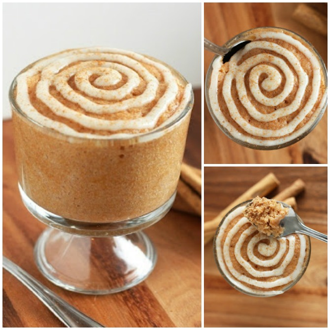 20 Easy Breakfast Mug Recipes For Lazy Morning-Cinnamon Roll in a Cup