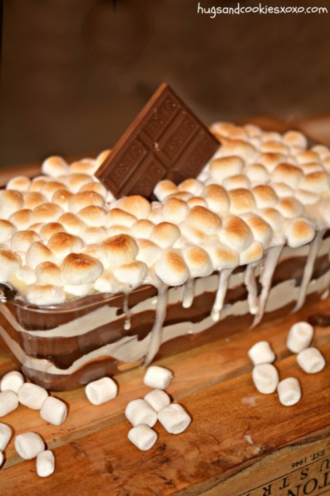 25 Dessert Lasagna Recipes To Make Your Party Wow12-S'mores Cookie Lasagna