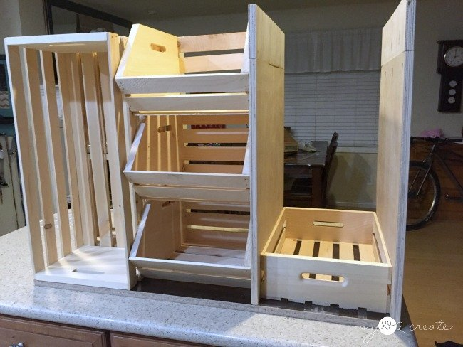 diy kitchen island with pantry storage free plan - Diy Kitchen Pantry Ideas