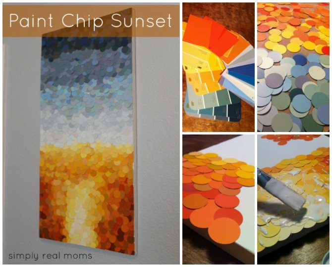 Top 15 Paint Chip Diy Projects For Home Decoration
