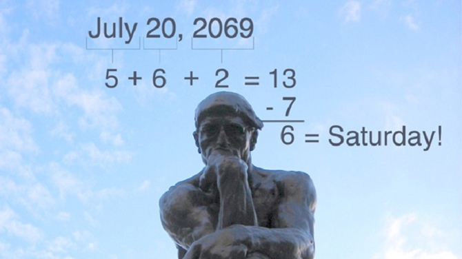 12 Useful Math Hacks You Didn't Learn At School-Calculate Your Calendar