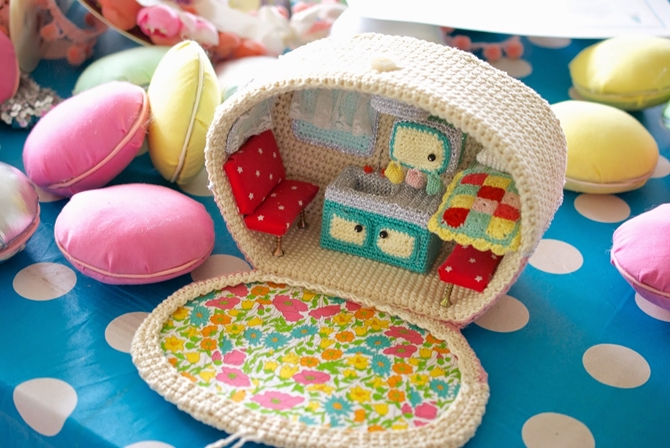 Crochet Caravan Pattern Free