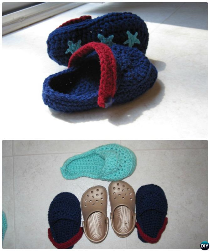 Crochet Toddler Sandal Crocs Free Pattern