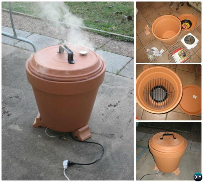 DIY Clay Pot Smoker Instructions