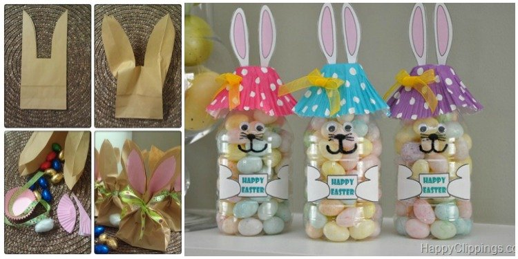 5 diy easter bunny gift ideas for toddlers negle Image collections