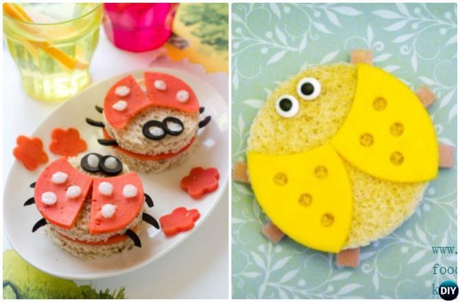 DIY Ladybug Sandwich-15 Fun Sandwich Ideas for Kids