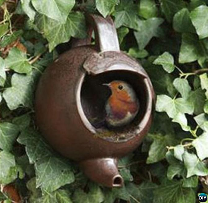 20 Useful And Easy Diy Garden Projects: 20 DIY Bird Feeder Projects To Bring Life In Your Garden