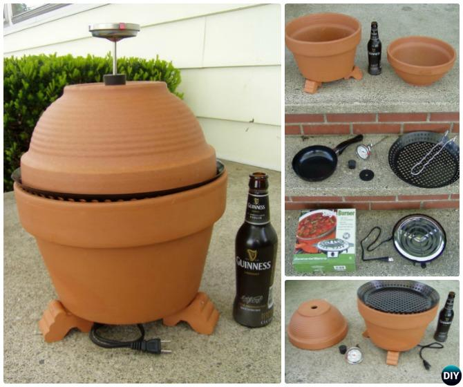 DIY Terra Cotta Clay Pot Smoker Instructions