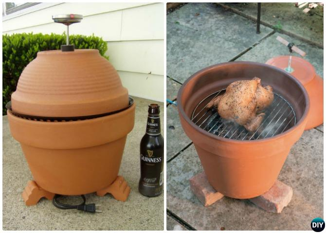 DIY Terra Cotta Clay Pot Smoker Instructions Video