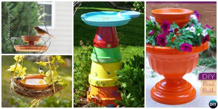 sc 1 st  DIY \u2013 DIY How To & DIY Clay Pot Birdfeeders