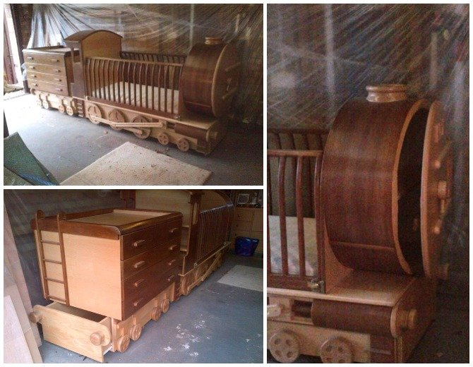 Diy Train Bed Projects Picture Instructions