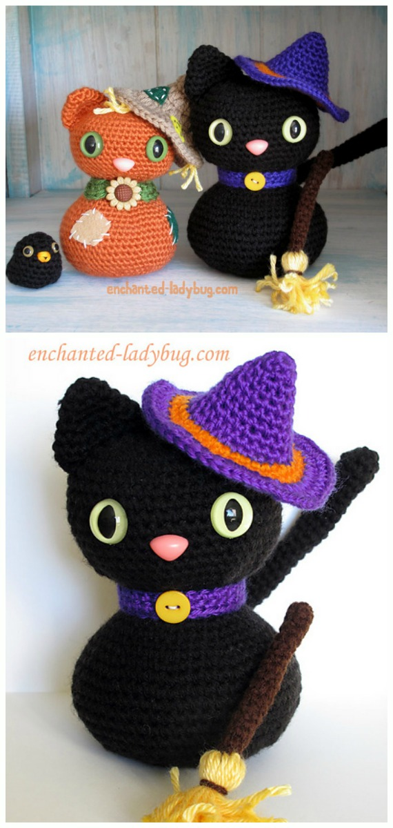 Crochet Amigurumi Cat Free Patterns
