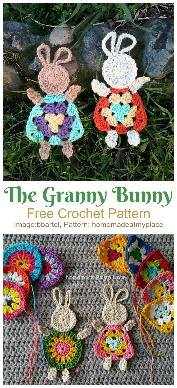 Easy Crochet Flower Appliques Free Patterns for Beginners | 1250x570