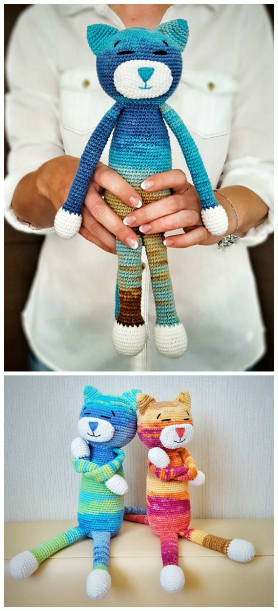 Free pattern of the small cats | Amigurumi and crochet patterns ... | 1250x570