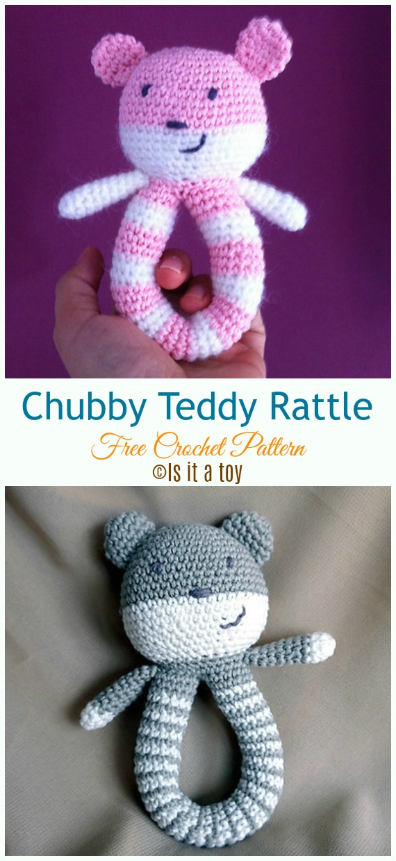 Baby Rattle Free Crochet Patterns Diy How To
