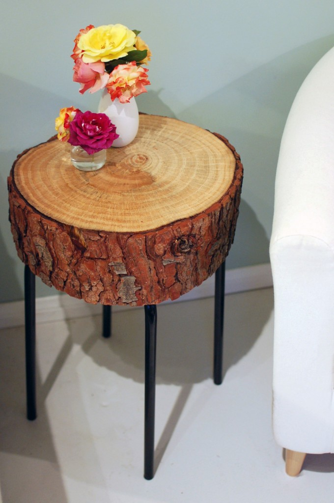 Diy Wood Log Floor Lamp Instructions Raw Wood Logs And