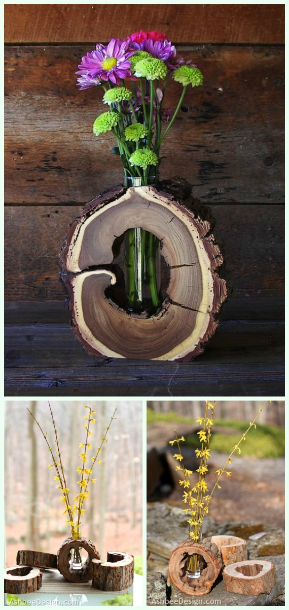 Wood Logs And Stumps Diy Ideas Projects Amp Furniture