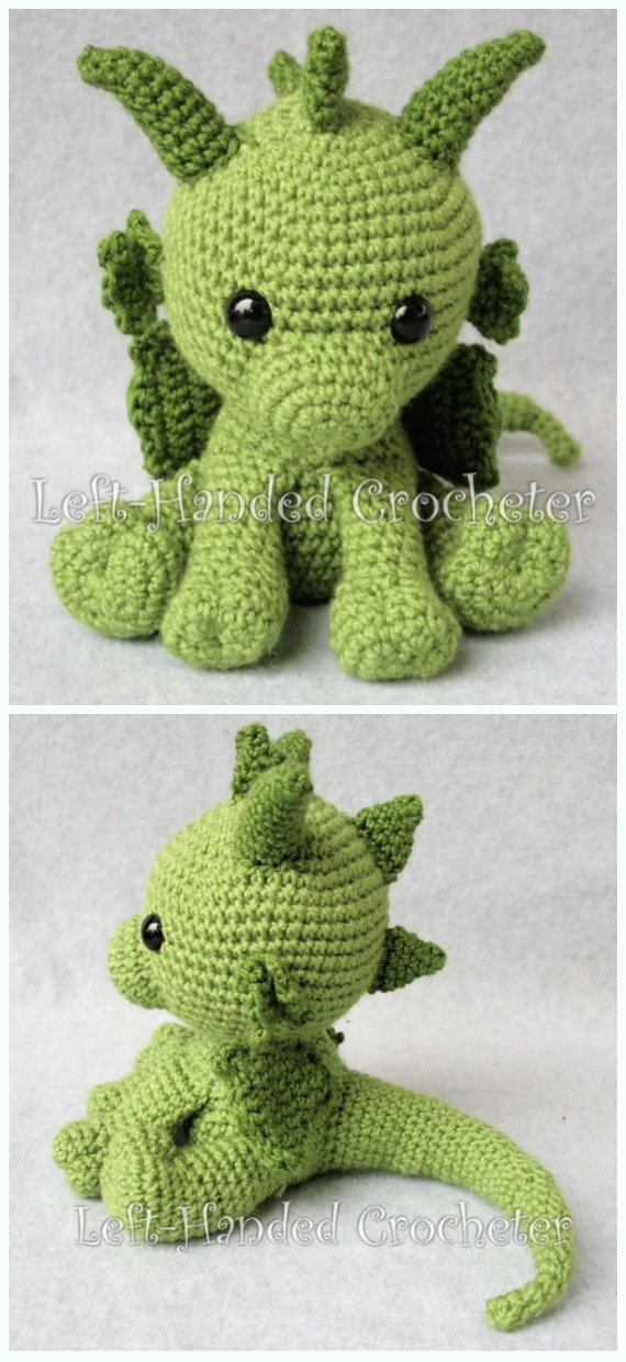 Amigurumi Dragon Free Crochet Patterns Page 2 Of 2 Diy How To