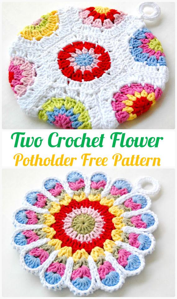 Crochet Pot Holder Hotpad Free Patterns