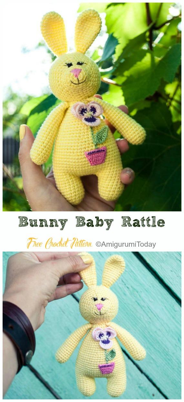 Bella the Bunny Crochet Pattern PDF Amigurumi Rabbit Toy | Etsy | 1240x570