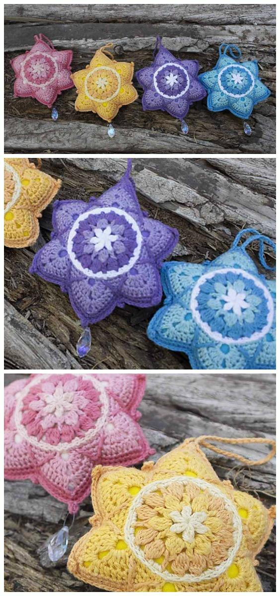 Twinkle StarCrochet Free Pattern - Amigurumi #Star; Plush Free #Crochet; Patterns