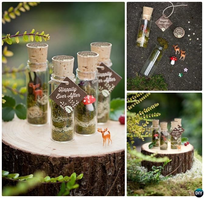Diy Mini Fairy Terrarium Garden Ideas