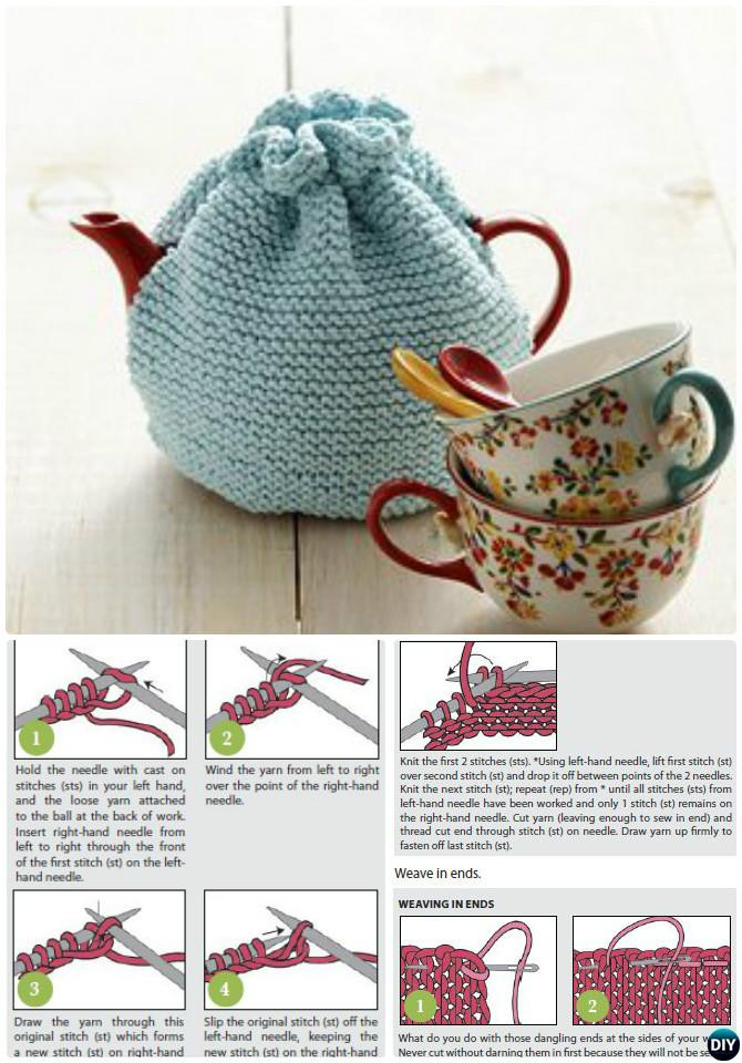 Beginner Knit Tea Cozy Free Pattern 20 Crochet Knit Tea Cozy Free