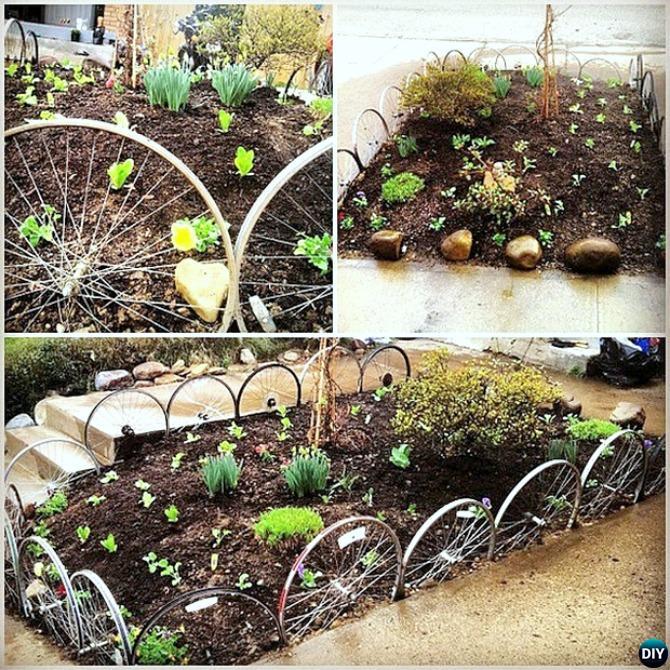 Garden Bed Border Ideas: Creative Garden Bed Edging Ideas Projects Instructions