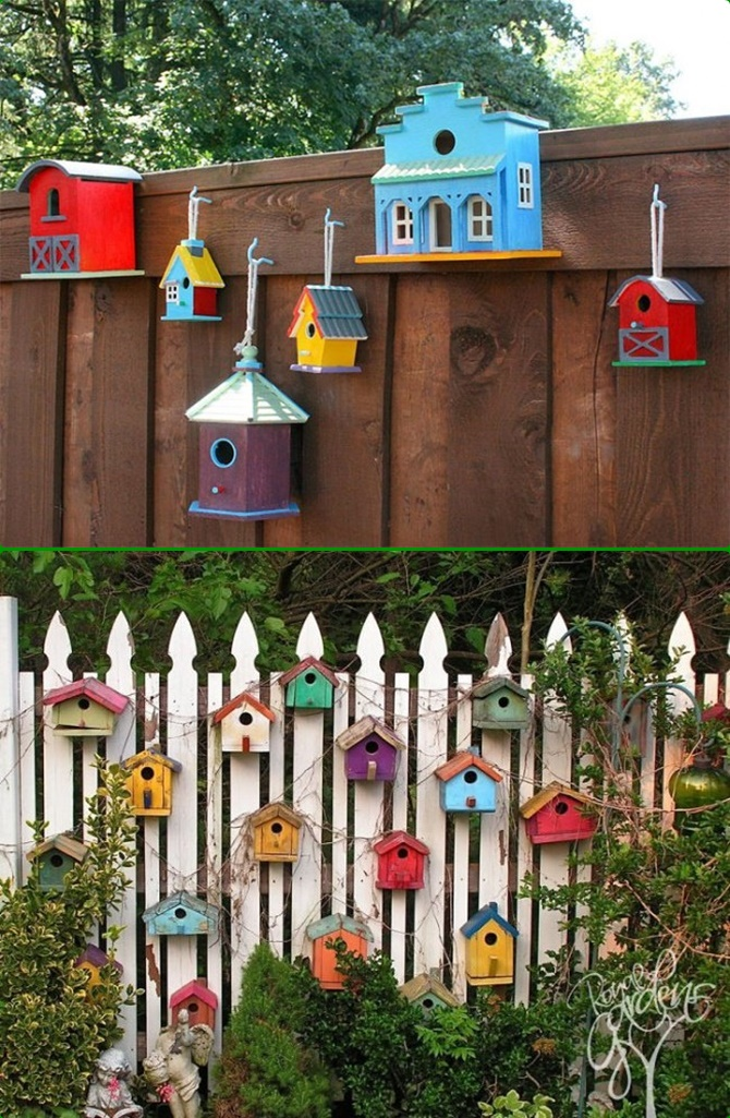 Backyard garden fence decoration makeover diy ideas for House garden decoration