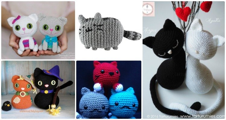 Amigurumi Kitten Patterns : Crochet amigurumi cat free patterns
