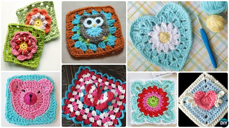 Free Crochet Granny Square Clothing Patterns : Crochet Granny Square Free Patterns