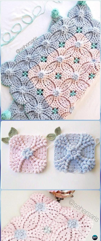 Free Crochet Motif Diagram Patterns Great Installation Of Wiring